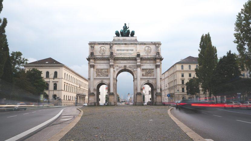 Siegestor in München